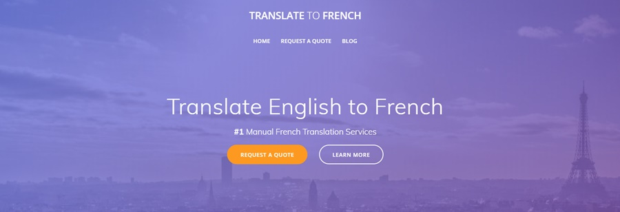 Translate your book to French